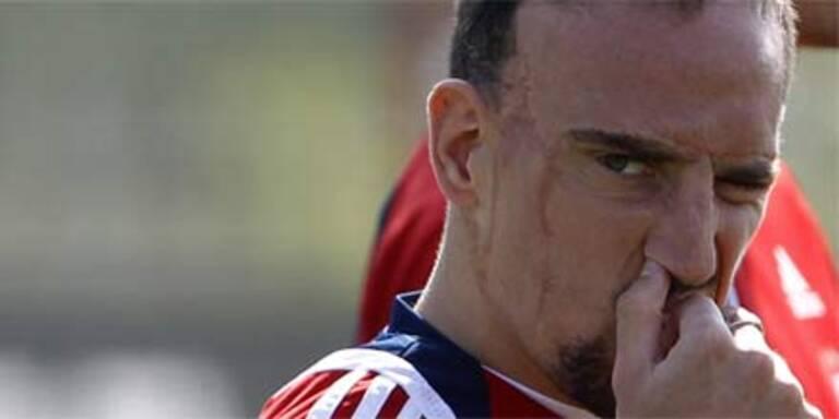 Ribery droht WM-Aus wegen Sex-Skandal