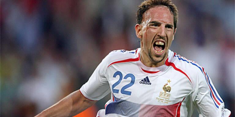 Fußball-Europa jagt Ribery
