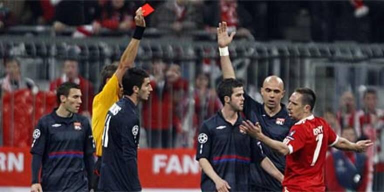 Ribery-Sperre: UEFA entscheidet am 5.5.