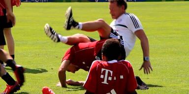 Ribéry: Spaßvogel im Bayern-Team