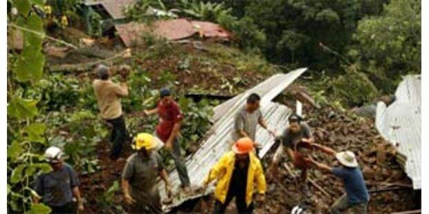 Schwere Überschwemmungen in Zentralamerika