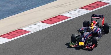 Red Bull muss Test wieder abbrechen