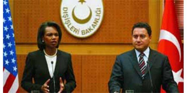 Rice sagt Türkei Unterstützung gegen PKK zu
