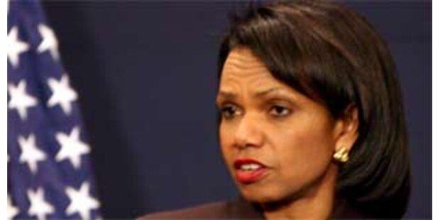 Rice will Nahost-Friedensgespräche weiterführen