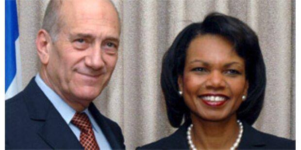 Rice glaubt nicht mehr an Nahost-Friedensabkommen
