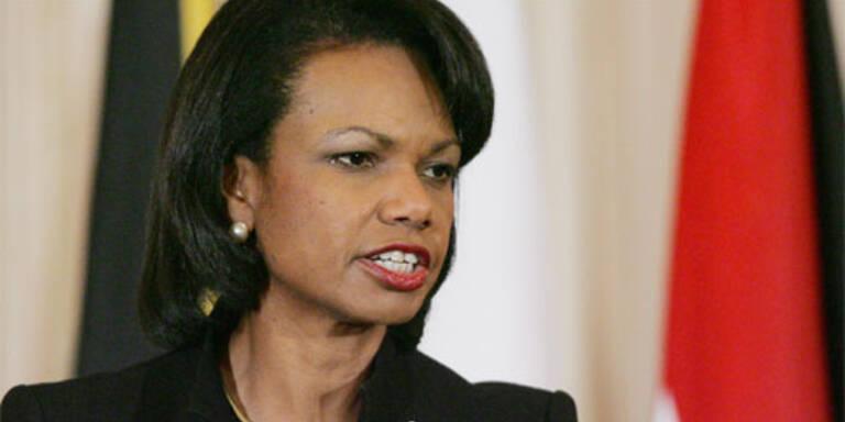 Rice lotet Chancen für neue Nahost-Initiative aus