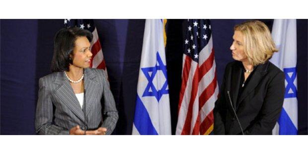 Rice kritisiert Israels Siedlungspolitik