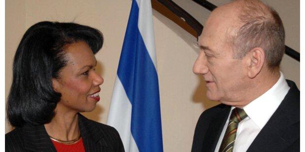 Palästinenser und Israelis mit USA an einem Tisch