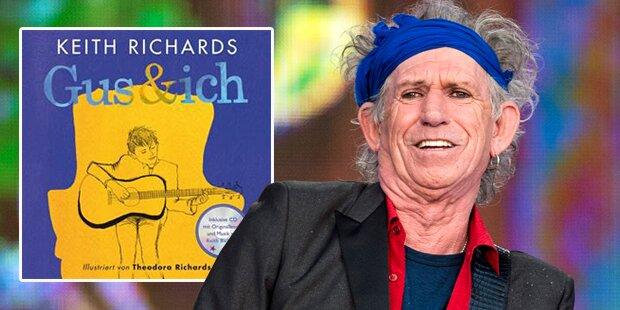 Richards präsentiert Kinderbuch
