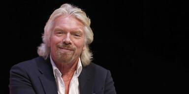 Richard Branson stattet Wien Besuch ab