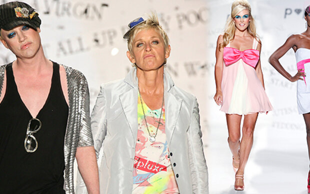 Aufreger auf NY Fashionweek