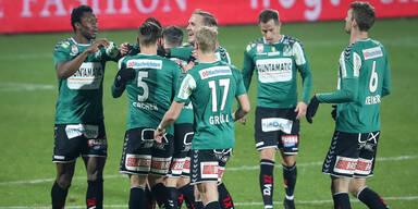 2:0 - Ried gewinnt gegen glücklose Hartberger