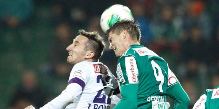 Austria 1:1 in Ried - Admira mit Pleite