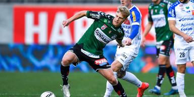 3:2 - Ried dreht Partie gegen Hartberg