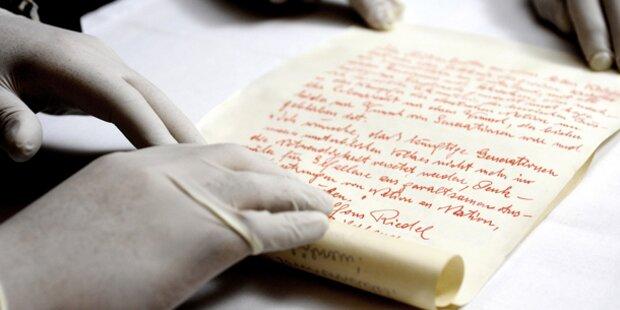 Nazi-Schreiben in Krypta entdeckt