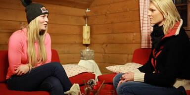 Höfl-Riesch interviewt Lindsey Vonn