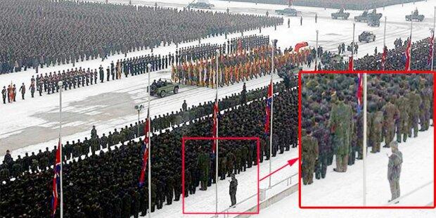 Rätsel um Riesen bei Kim-Begräbnis