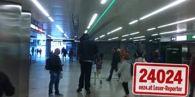 Rätsel um 2,30-Meter-Mann in Wiener U-Bahn