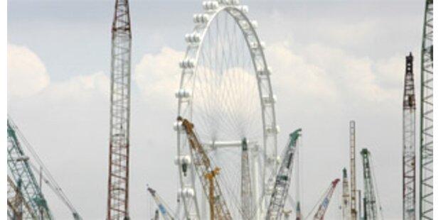 Größtes Riesenrad der Welt in Singapur