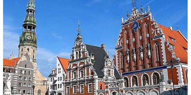 Riga zum Nationalfeiertag