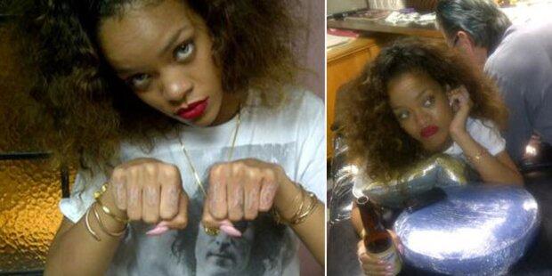 Rihanna: Neues Tattoo