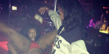 Rihanna twittert Fotos aus dem Strip-Club