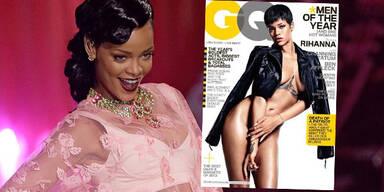 Rihanna nackt auf dem GQ-Cover