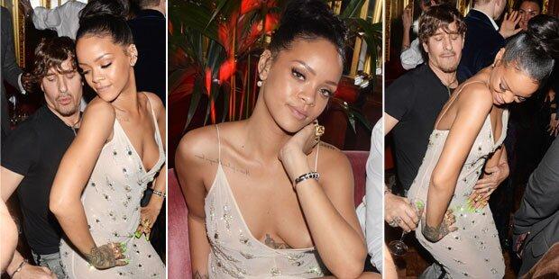 Rihanna: Twerking & (fast) Nippelblitzer