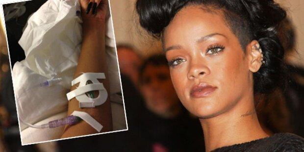 Rihanna: Schon wieder im Spital