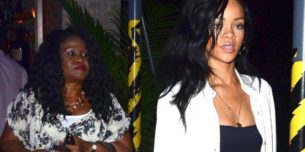 Rihanna: Mutti folgt ihr auf Schritt & Tritt