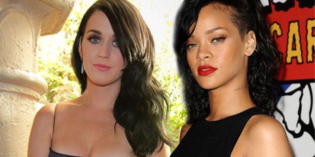 Perry & Rihanna: Streit wegen Chris Brown