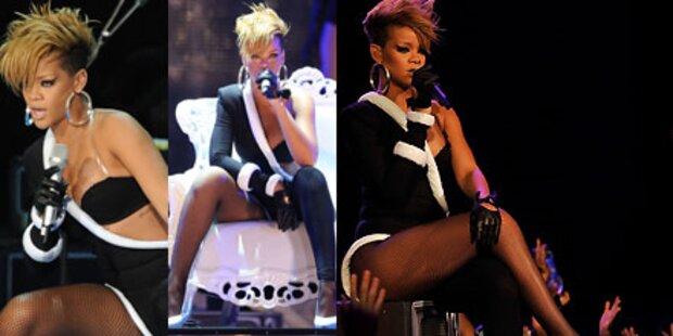 Rihannas sexy Super Bowl-Show