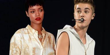 Rihanna, Justin Bieber