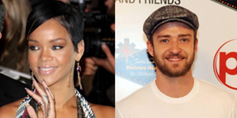 Rihanna angelt sich Justin Timberlake