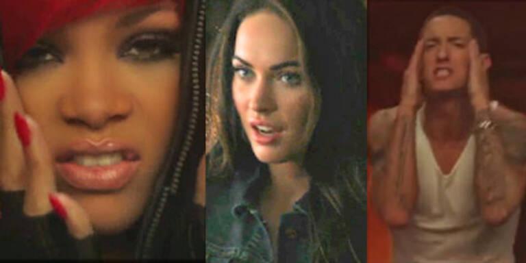 Eminem, Rihanna & Fox zusammen in Video