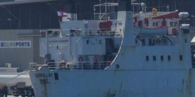 Monatelang auf Schiff eingepfercht: 900 Rinder werden notgeschlachtet