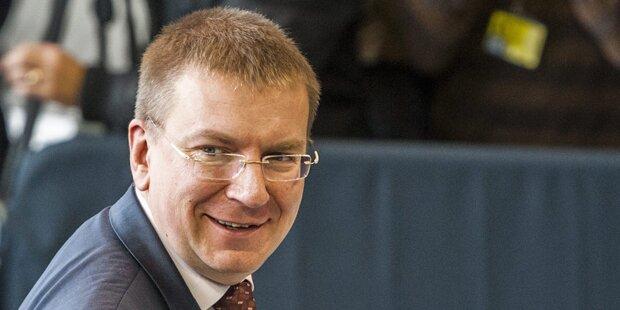 Lettischer Minister outet sich