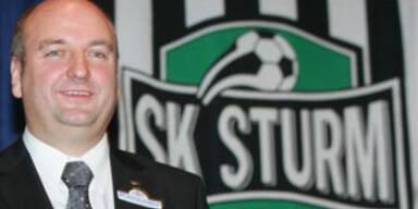 Sturm Graz-Präsident Hans Rinner