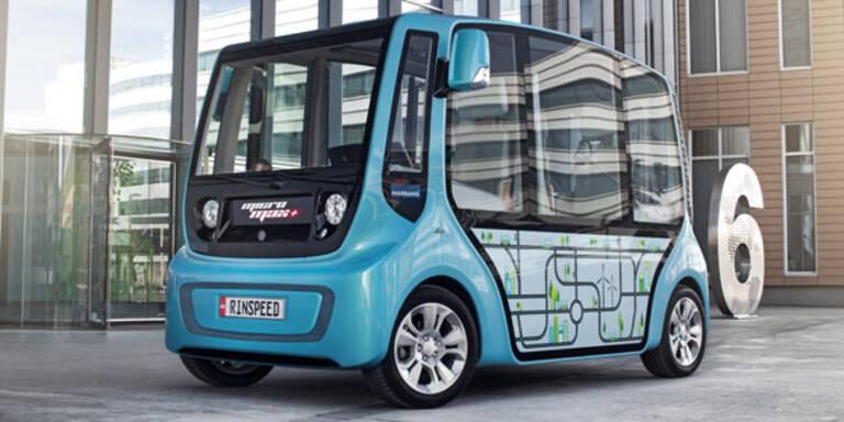 E-Microbus will Stadtverkehr revolutionieren