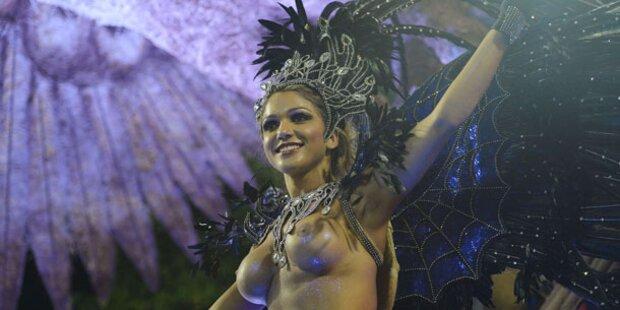 Karneval von Rio erreicht Höhepunkt