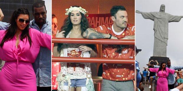 Megan Fox & Kardashian: Verliebt in Rio