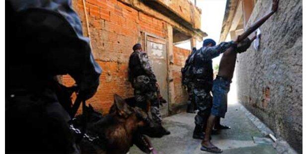 Gewaltexplosion in Rio