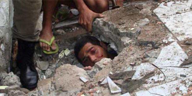 Schon 145 Tote durch Unwetter in Rio