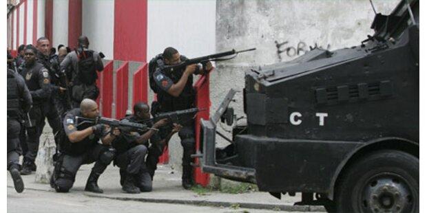 Rohe Gewalt auf Rios Straßen