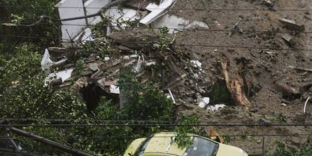 96 Tote: Dauerregen stürzt Rio ins Chaos
