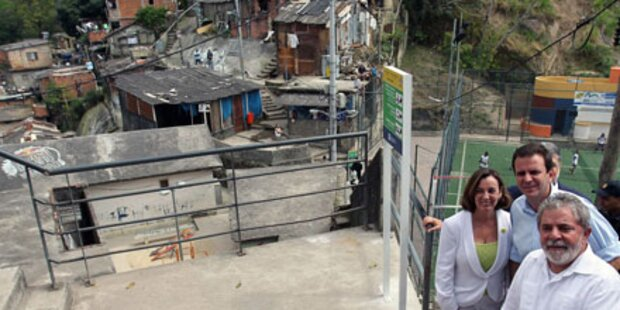 Slums von Rio sind Touristenattraktion
