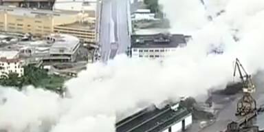 Brasilien: Riesen-Sprengung in Rio de Janeiro