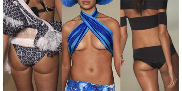 Fashion Week mit vielen sexy Kurven