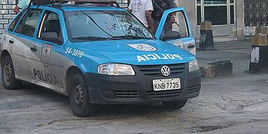 Polizeiwagen in Rio