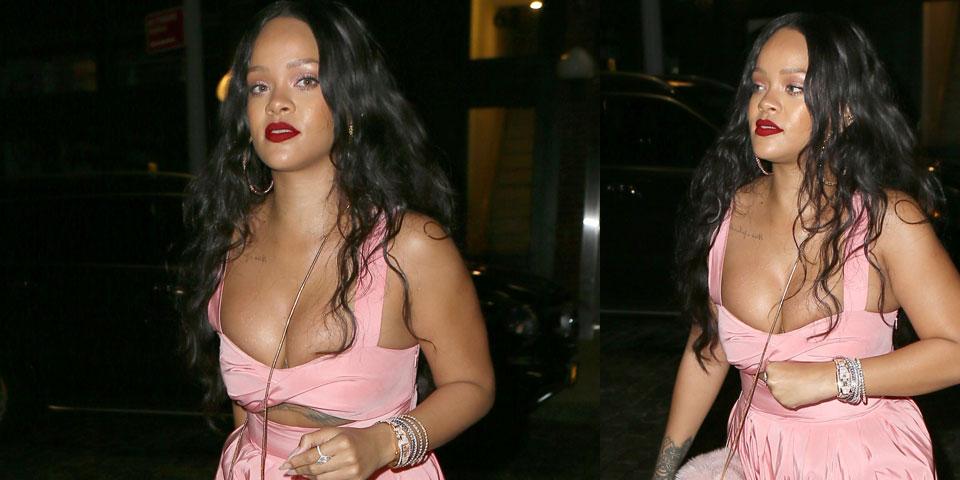 Rihanna in Brooklyn